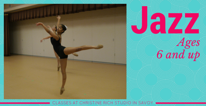 Jazz Dance Class At Christine Rich Studio Champaign