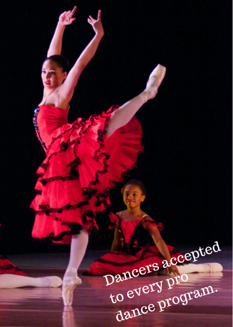 Dancers accepted to every major dance