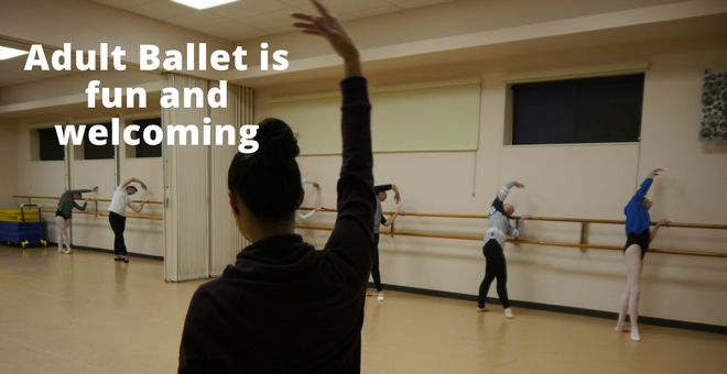 Adult Ballet Classes Champaign, IL