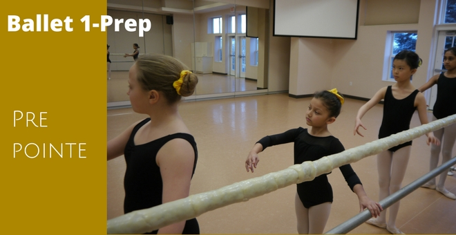 Ballet 1-Prep at Christine Rich Studio Savoy Illinois